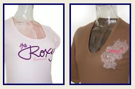 roxy-screen-prints-on-ladies-tops