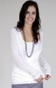 Reasonably priced organic Cotton Cardigan: $89.00 Bloomfield Clothing