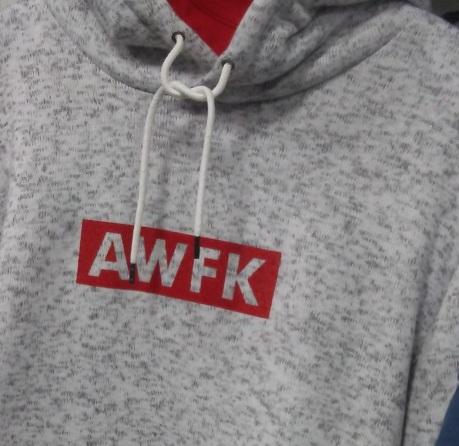 AWFK Knit Hoody