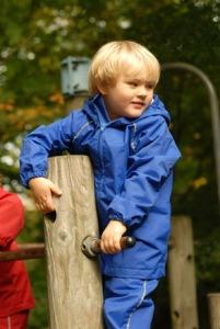 Dallas age Three Blue Rainsuit